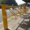东莞自行车停车架立式卡位碳素钢材质