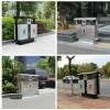 厂家供环卫垃圾桶街道不锈钢垃圾桶果皮分类垃圾箱定做