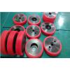 供应北京、唐山聚氨酯滚轮,滚轮包胶加工,高耐磨不脱胶