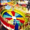 中小型室外儿童游乐设施迪斯科转盘荥阳三星游乐厂家供应 低价