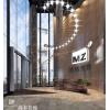 9万平米万科前海企业公馆,绿色智慧美致模型办公空间设计