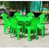 2018年塑料桌椅价格,大排档塑料桌椅