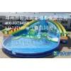 儿童嬉水乐园项目 水上闯关设备 移动游泳池 郑州卧龙
