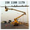 出租高空作业车服务监控器安装、广告牌安装、大型路灯安装作业