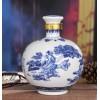 5斤装葫芦瓶酒坛子,景德镇陶瓷酒瓶厂家,定做陶瓷酒瓶价格