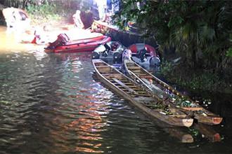 桂林龙舟翻船事件 滚水坝漩涡是主因