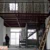 大兴区做钢结构隔层 挑高室内做阁楼搭隔层68606557