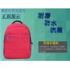 大红色背包商务礼品广告箱包袋双肩包电脑包定做