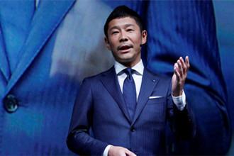 日本富翁前泽友作成绕月飞行首单旅客