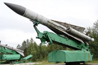 俄罗斯伊尔20战机被S200防空导弹击落