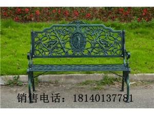 户外欧式公园椅广场庭院休闲长椅铸铁椅小区休闲铸铝室外座椅长凳
