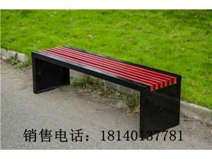 公园椅户外长椅防腐实木