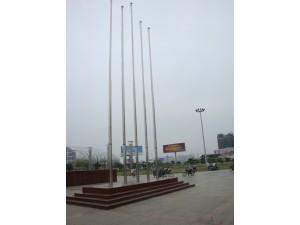 天津空港安装不锈钢旗杆厂家