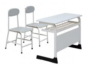 朗哥家具 双人课桌椅KZY011 学校家具 厂家定制