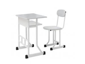 朗哥家具 中学课桌椅KZY012 单人课桌椅 厂家定制