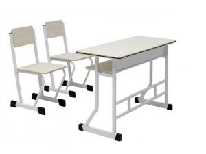 朗哥家具 双人课桌椅KZY013  课桌椅批发