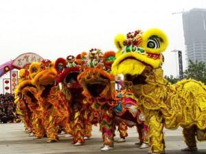 香港澳门醒狮团 深圳星繁醒狮团