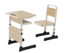 朗哥家具 教室课桌椅KZY016 塑料课桌椅厂家定制