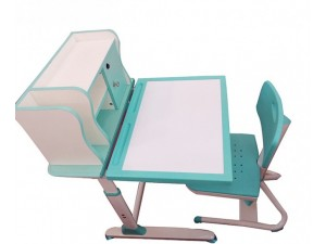 朗哥家具 教室课桌椅KZY020 塑料课桌椅厂家定制