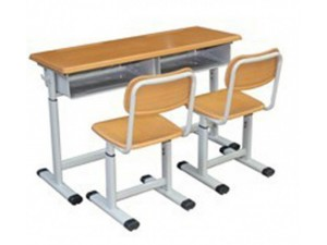 朗哥家具 双人课桌椅KZY024 学校家具 厂家直销