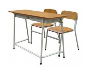 朗哥家具 双人课桌椅KZY025  课桌椅批发