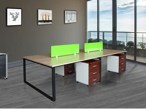 長春辦公桌屏風電腦桌生產自營