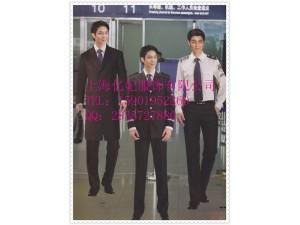 空少职业套装定制 西装外套西裤衬衫订做 机长制服套装厂家