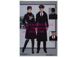 空姐新款冬季毛呢加厚加棉呢子大衣定做 女修身大衣加长款
