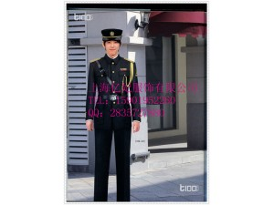 保安新款套装西装外套裤子定制 物业冬装 售楼部保安服厂家订制