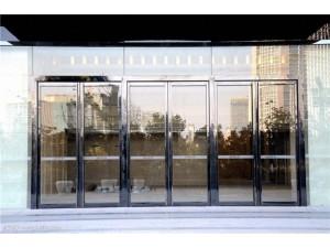 北京同兴园感应门维修技术玻璃门同步配件安装