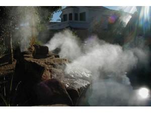 园林人造雾景观