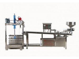 全自动不锈钢千张机 豆皮机大型豆腐机