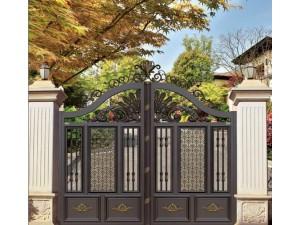 天津铝艺围栏,铝艺大门,佳美铝艺厂家定制