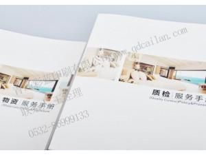 彩蓝印刷 广告设计 企业画册 打印