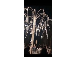 网红泡泡树出租 烟泡树租赁 高端艺术类互动装置制作厂家供应