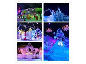 冰雕展出租 专业冰雕工程制作 冰雕艺术制作厂家 图片 价位