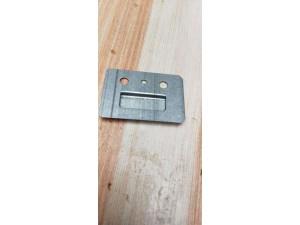 不锈钢墙板卡扣鑫辉集成墙板固定扣件加厚金属五金配件