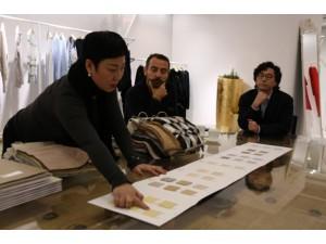 男士针织服饰定做意大利原厂地羊绒纺织品