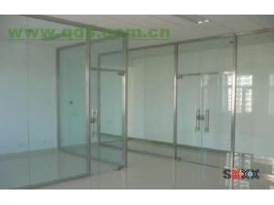 房山燕山安装玻璃门定做玻璃隔断