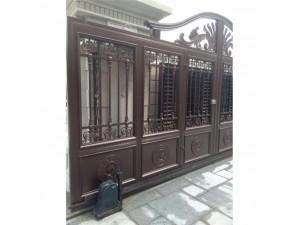 天津铝艺庭院门,天津铝艺护栏厂家定制安装