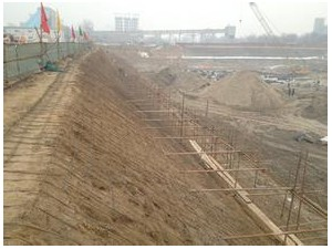 北京专业护坡山体打护坡桩 基坑护坡