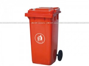 上海小白牛金山枫泾镇大型环卫垃圾桶120L