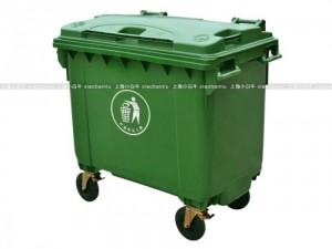 上海小白牛环卫垃圾桶带盖660升亭林镇