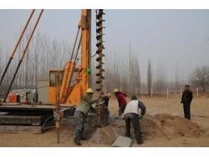 北京专业给地基打桩、地基基础打桩、护坡打桩