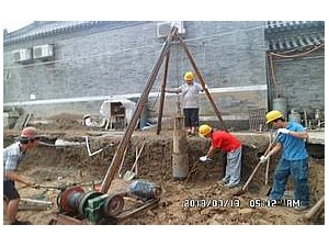 北京打桩CFG桩灌注桩施工公司