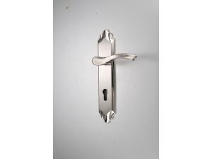 304不锈钢入户把手锁欧式室内锁具房间实木门锁机械门锁执手锁