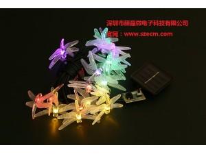 太阳能灯串驱动IC,定时IC芯片,八种闪烁模式灯串IC芯片