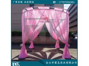 RK工厂直销定制双圆造型婚庆架