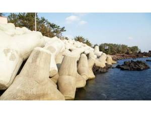 防浪石模具使用方法和制造