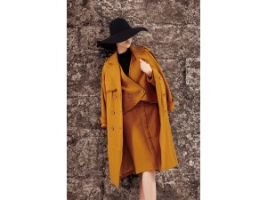 哈尔滨女装品牌批发折扣尾货批发卡兰度双面尼大衣
